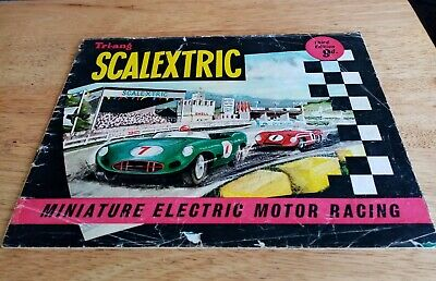 Scalextric Catalogue Third Edition A Triang Product • 14.99£