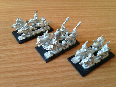 Warmaster Wolf Riders Orcs & Goblins WB03 • 50£