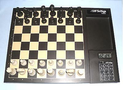 Yes Yes Yes Ideal Gift Retro Vintage Rapier Electronic Chess Computer By Scisys • 89.99£