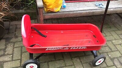 Radio Flyer Wagon With Seat Belt, Backrest And Covered Little Mattress • 47£