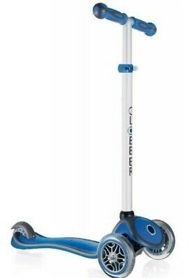 Globber Primo Foldable Lights Scooter In Sky Blue (3+ Years) 423-100-2 • 9.99£