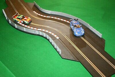 SCALEXTRIC Sport Extension Chicane Bundle With Barriers, 4 Track And 8 Barriers • 13.19£