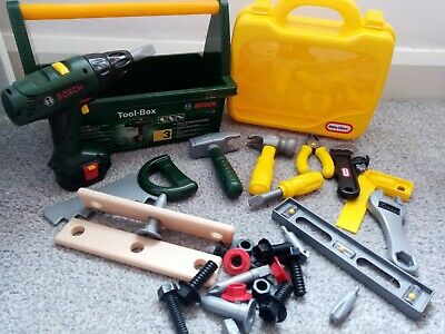 Toy Tool Kit Bosch And Little Tykes • 5£