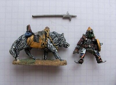 CM22 Orc Wolf Rider. Chronicle. GW. Nick Lund. Metal. AD&D. Warhammer. 1980s • 3.45£