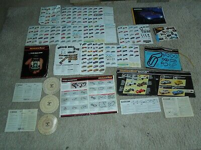 Job Lot Scalextric Literature Catalogues Booklets + 4 X Speed Computers C276 • 12.99£
