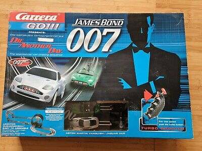 Carrera Go James Bond Die Another Day Aston Martin Set Boxed Used Once Ex Cond • 10.50£