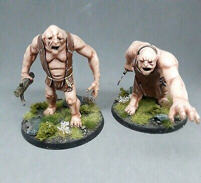 The Hobbit Trolls, Painted And Based • 80£