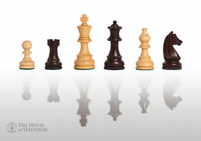 The Championship Chess Set - Pieces Only - 3.75  King - Rosewood Gilded • 78.80£