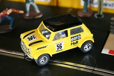 SCALEXTRIC Very Nice Condition Mini Cooper No56 Yellow BOSE Fast Postage  • 27.99£