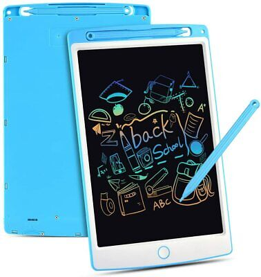 Blue Portable Board Handwriting Drawing Tablet Pad For Kids Home School Office • 11.49£