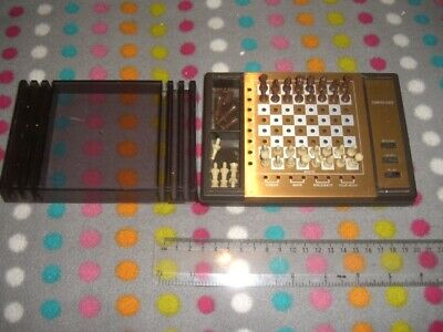 1981 Travel Electronic Chess Set, Computachess By White And Allcock, Complete &  • 4£