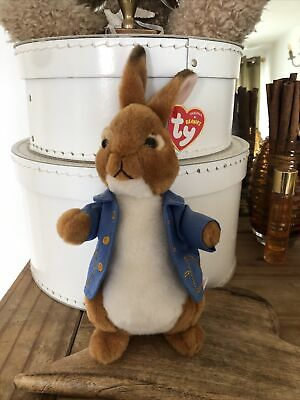 "Ty Beanie Peter Rabbit The Movie 2017 7"" Plush Toy  • 2.20£"