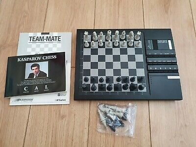 Kasparov Chess Computer (Team-Mate) – Excellent Condition With Manuals • 42£