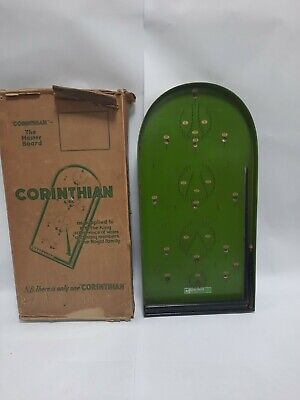 Vintage Corinthian The Master Board Bagatelle Game With Original Marblesin Box • 19.99£