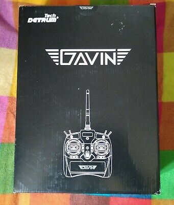 Tech Detrum Gavin RC Radio 6 Channel Transmitter And Receiver • 45£