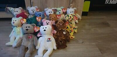 Ty Beanie Babies Bears Bundle With Tags • 5£
