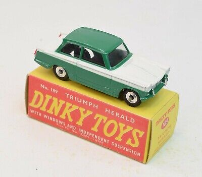 Dinky Toys 189 Triumph Herald Virtually Mint/Boxed • 120£