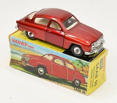 Dinky Toy 156 Saab 96 Very Near Mint/Boxed • 120£