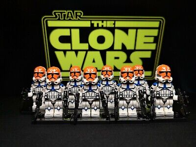 Star Wars Custom 332nd Clone Troopers X8 - Army Builder/Lot - Lego Compatible • 18.50£