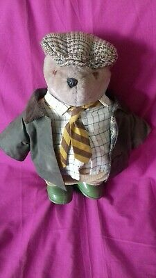 Vintage 'Country Gent' Teddy Bear From 1987 • 3£