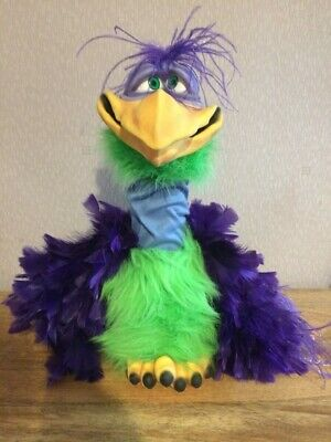 """Professional Latex Puppet Ventriloquist Vern The Bird Axtell Expressions 30"""" • 185£"""