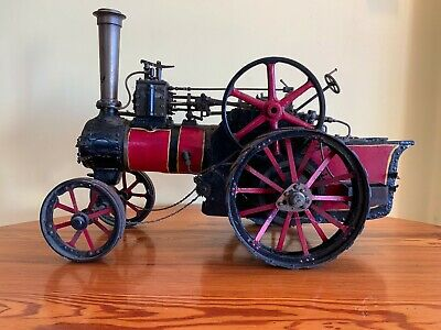 Vintage/antique Model Steam Engine Agricultural Tractor - Magnificent & Large • 1,999£