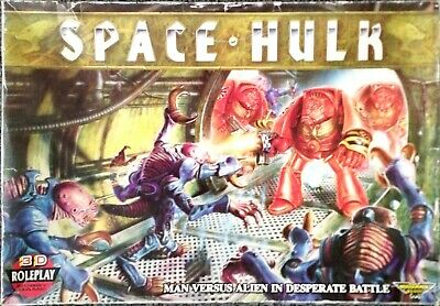 SPACE HULK + DEATHWING + GENESTEALER Expansions 1st Edition  • 200£