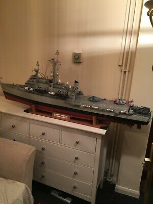 1/96 Scale Hms Fearless Falklands Radio Controlled Model Warships • 600£