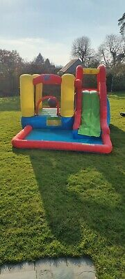 Inflatable Bouncy Castle Water Slide Action Air No Reserve! • 5.50£