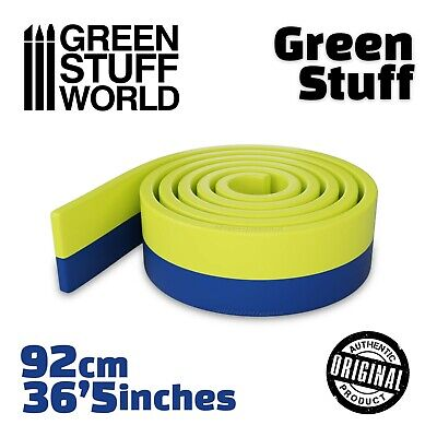 Green Stuff - 36'5 Inches - Kneadatite Blue Yellow Duro - Warhammer • 8.75£