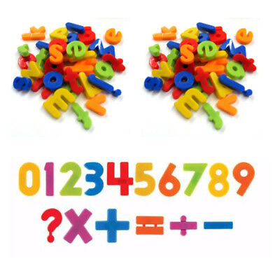 Fridge Magnets Alphabet Numbers STRONG MAGNETS MAGNETIC BABY LETTERS AND LARGE • 3.39£
