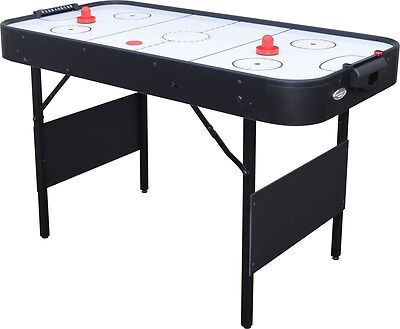 Folding 4' Air Hockey Table Air Hockey With Pucks Included Indoor Game Air Game • 129.99£