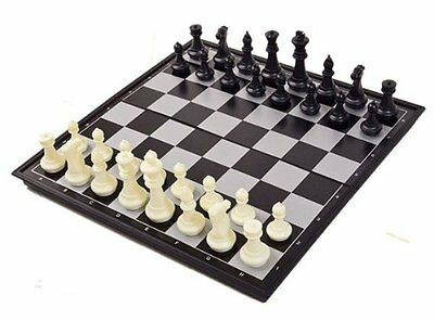 New Magnetic Folding Chess Board Portable Set High Quality Games Camping Travel • 2.99£