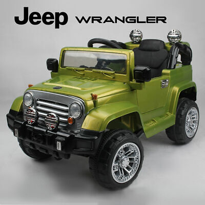 Kids Ride On Jeep Wrangler Childrens 12v Battery Remote Control Toy Car / Cars • 149.99£