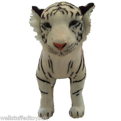 Sitting White Tiger Soft Toy Plush 73cm 29  • 25.99£