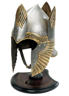 Lord Of The Rings - Helm Of Isildur With Stand, LotR LARP Replica Helmet • 470.95£