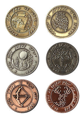 LARP Coins Elves, Fantasy Money Currency Medieval Ancient • 21.95£