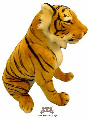 Large Sitting Brown Tiger Soft Toy Plush 73cm 29  • 26.99£