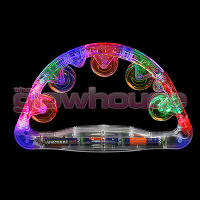 Sensory Led Light Up Flashing Tambourine Shaking Sensory Toy • 6.95£
