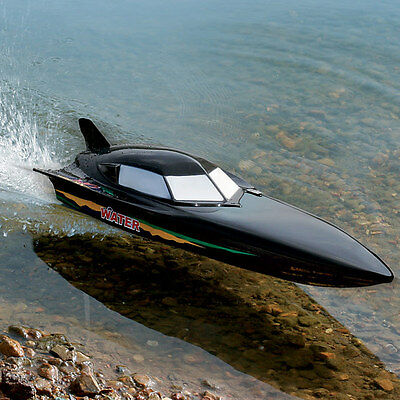 NEW Sale Price! RC Remote Radio Control R/C Syma Black Stealth Racing Speed Boat • 52.99£