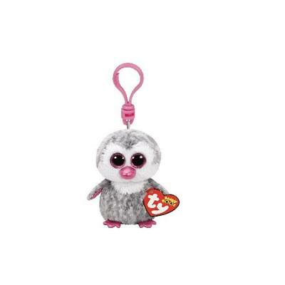 Ty Beanie Boos 35023 Olive The Grey And Pink Owl Boo Key Clip • 3.95£