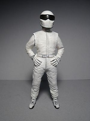 White  Stig  Top  Gear  1/18  Unpainted  Figure   By  Vroom  For  Gt  Spirit   • 26£