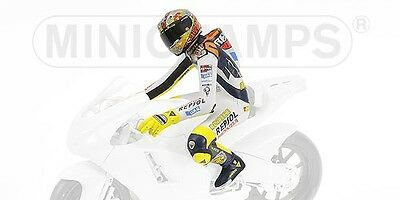 Valentino Rossi Driver Riding Figure Valencia Motogp 2003 1:12 Model MINICHAMPS • 52.28£