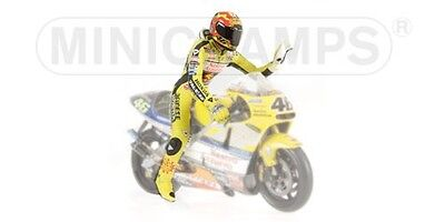 Valentino Rossi Driver Figure World Champion 2001 1:12 Model MINICHAMPS • 52.28£