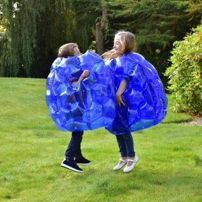Kids Inflatable 2 X Buddy Bumper Bounce Balls Sumo Suits Fun Zorb Play Game • 25.99£
