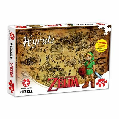 Legend Of Zelda Hyrule Field 500 Piece Jigsaw Puzzle • 9.99£