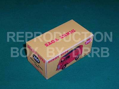 Dinky #260 Royal Mail Van - Reproduction Box By DRRB • 10£