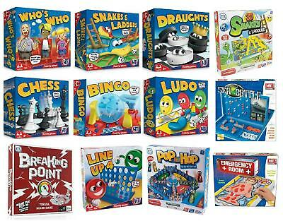 Classic Traditional Family Board Games Kids Childrens Indoor Gift Toys • 6.99£