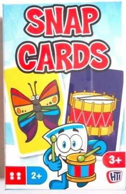 New Snap Cards Kids Family Game Playing Cards Party Bag Toy • 2.25£