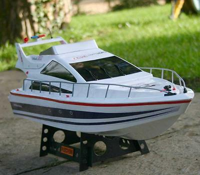 NEW HUGE White Remote Control RC HENG LONG Atlantic Racing Speed Boat Yacht RTR  • 65.99£
